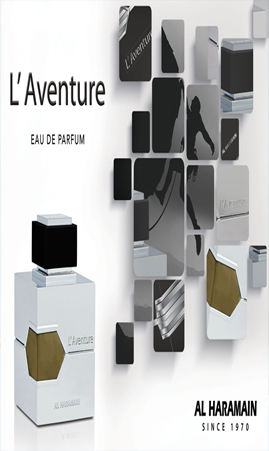 L'AVENTURE 100ML Spray Al Haramain Perfumes