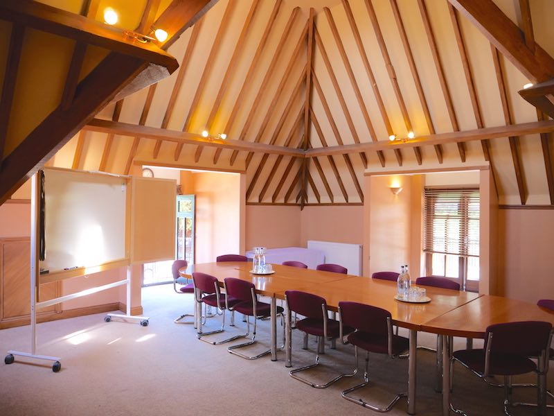 12 Person Boardroom Style Meeting Room In North-West London