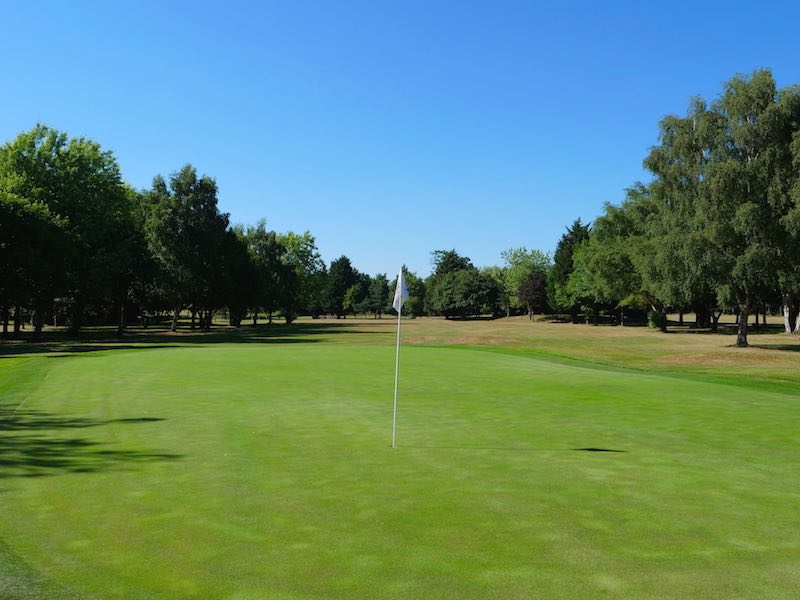 18th Hole At Aldenham Golf & Country Club In Watford, North West London