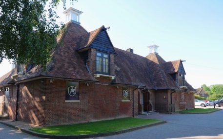 Clubhouse At Aldenham Golf & Country Club In Hertfordshire