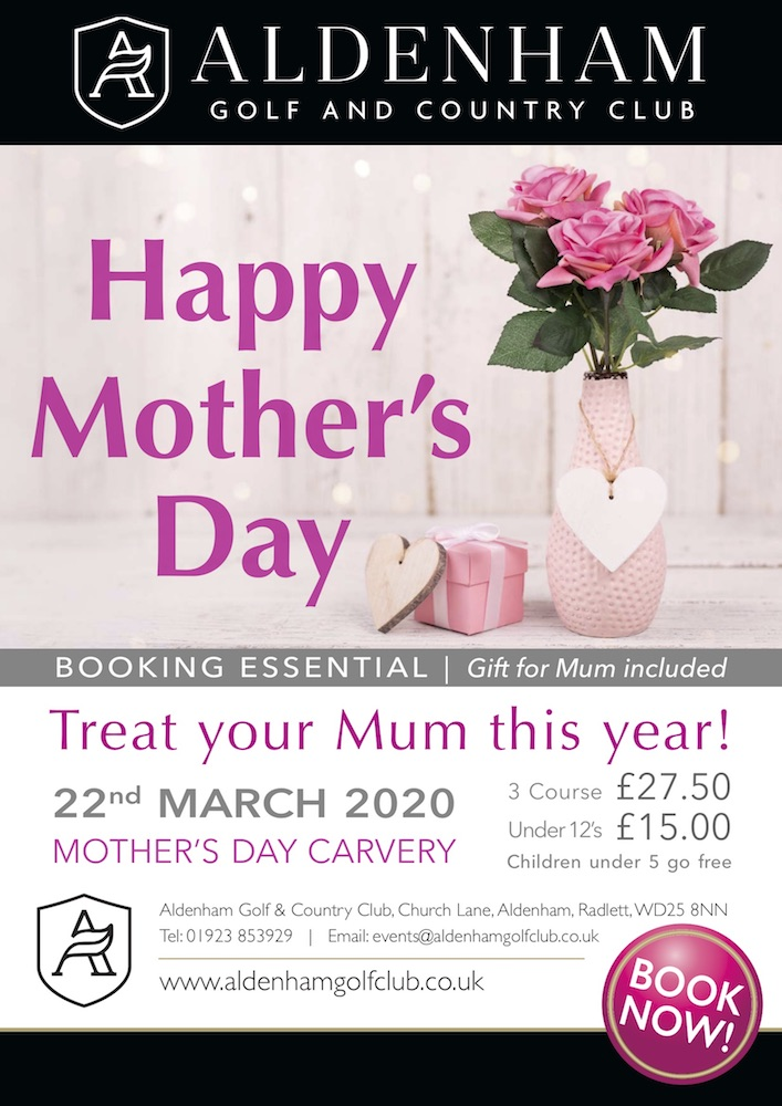 Mother's Day Aldenham Watford 2020