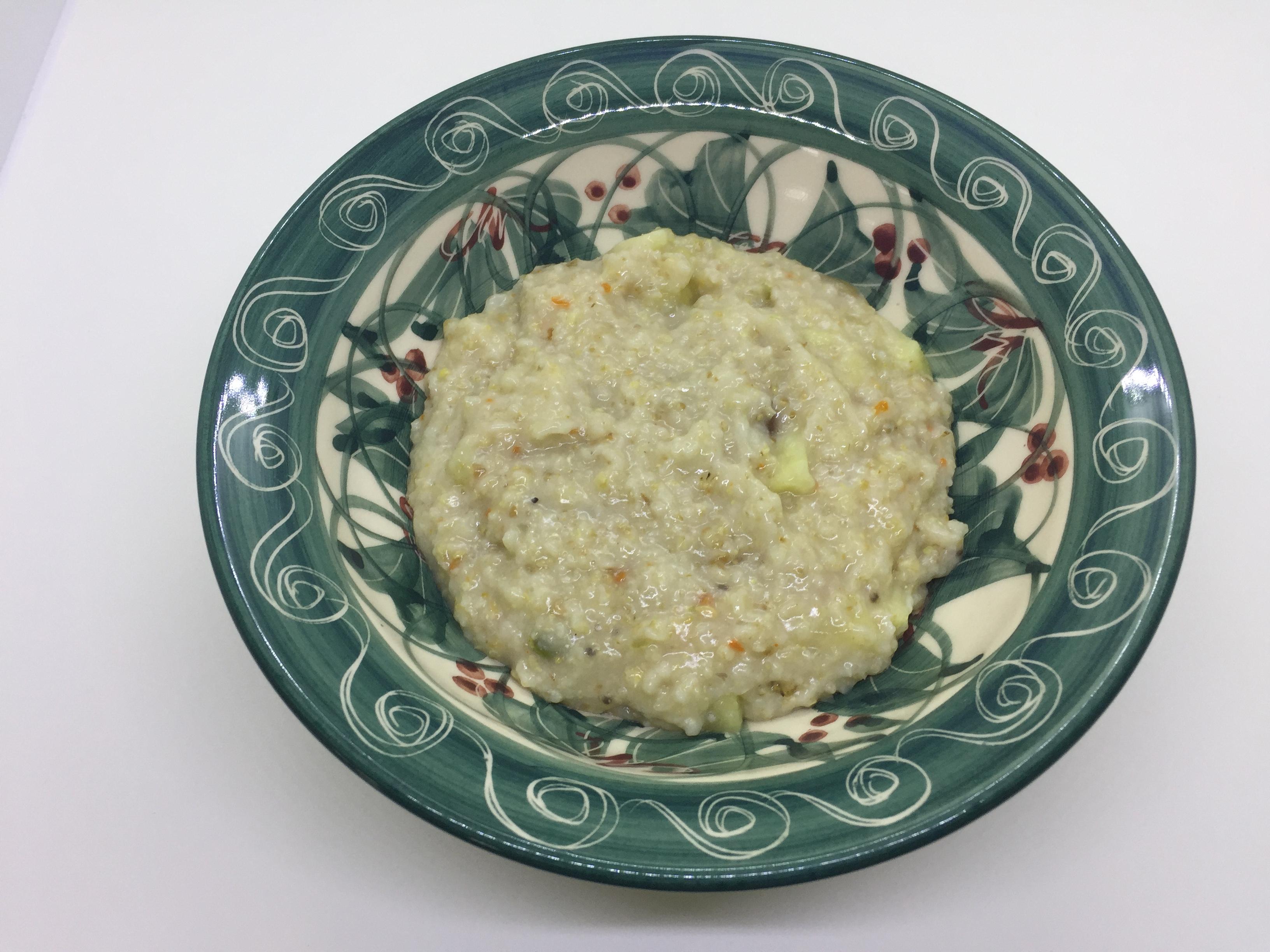 Porridge and almond milk recipe