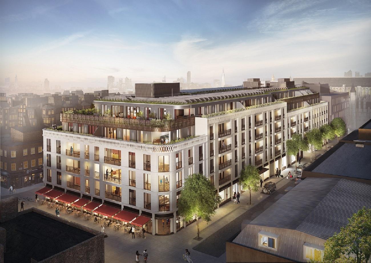 Marylebone Square, Marylebone Lane, London W1