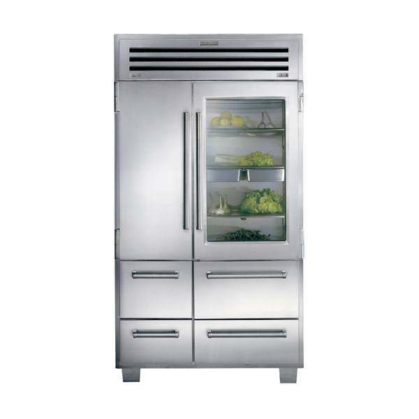 sub-zero ICB648PROG-side-by-side-refrigerator-freezer-with-glass-door