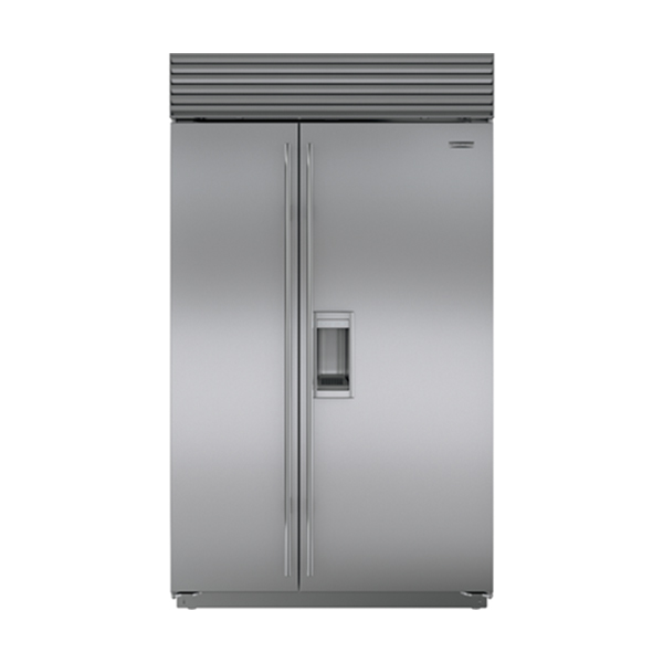 sub-zero Side-By-Side Refrigerator/Freezer With External Ice & Water Dispenser