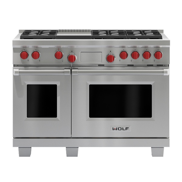 wolf ICBDF486G-1219MM-DUAL-FUEL-RANGE-WITH-GRIDDLE