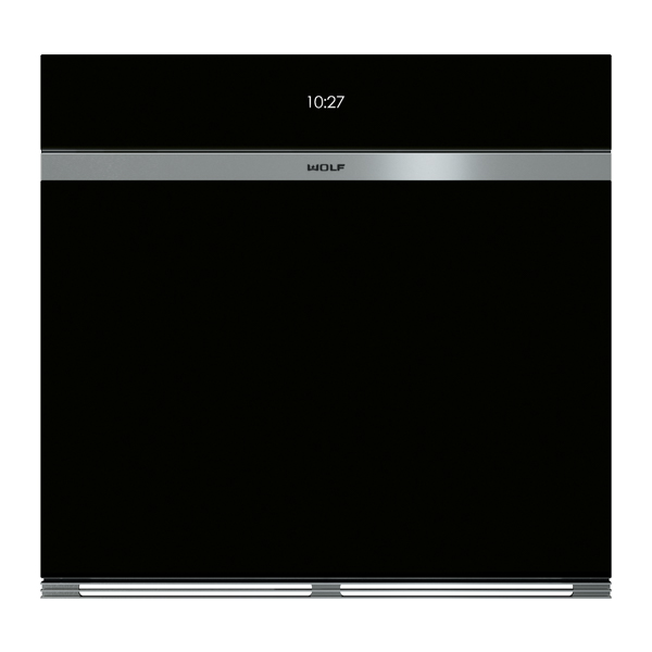 wolf - ICBSO30CM_B-LG-BUILT-IN-M-SERIES-CONTEMPORARY-BLACK-GLASS-SINGLE-OVEN