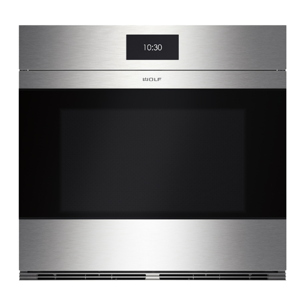 wolf ICBSO30CM_S-LG-762MM-M-SERIES-CONTEMPORARY-STAINLESS-STEEL-SINGLE-OVEN