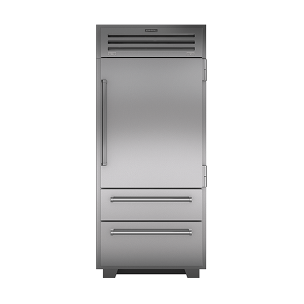 subzero - 914MM ULTIMATE PROFESSIONAL REFRIGERATOR FFREEZER WITH SOLID DOOR