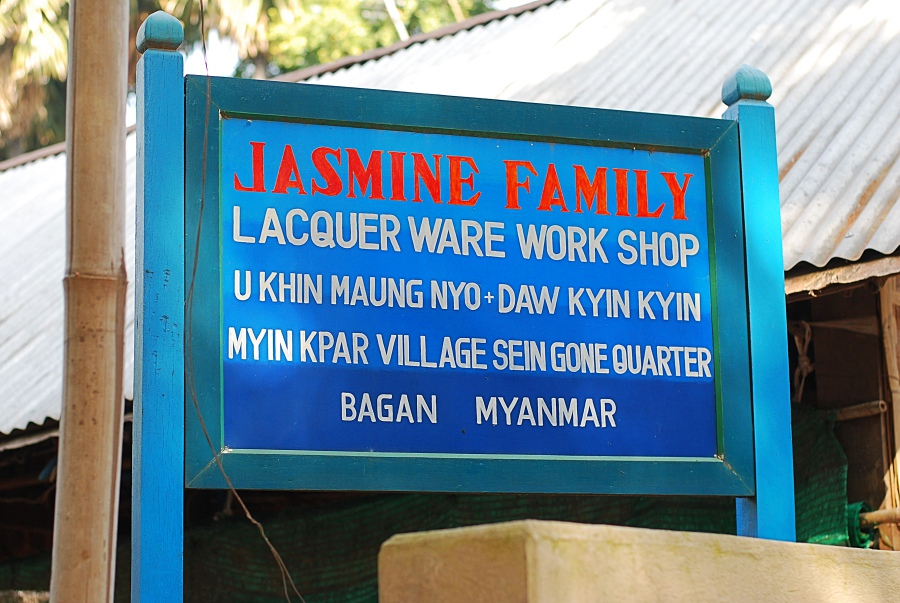 Jasmine Family laquerware Bagan