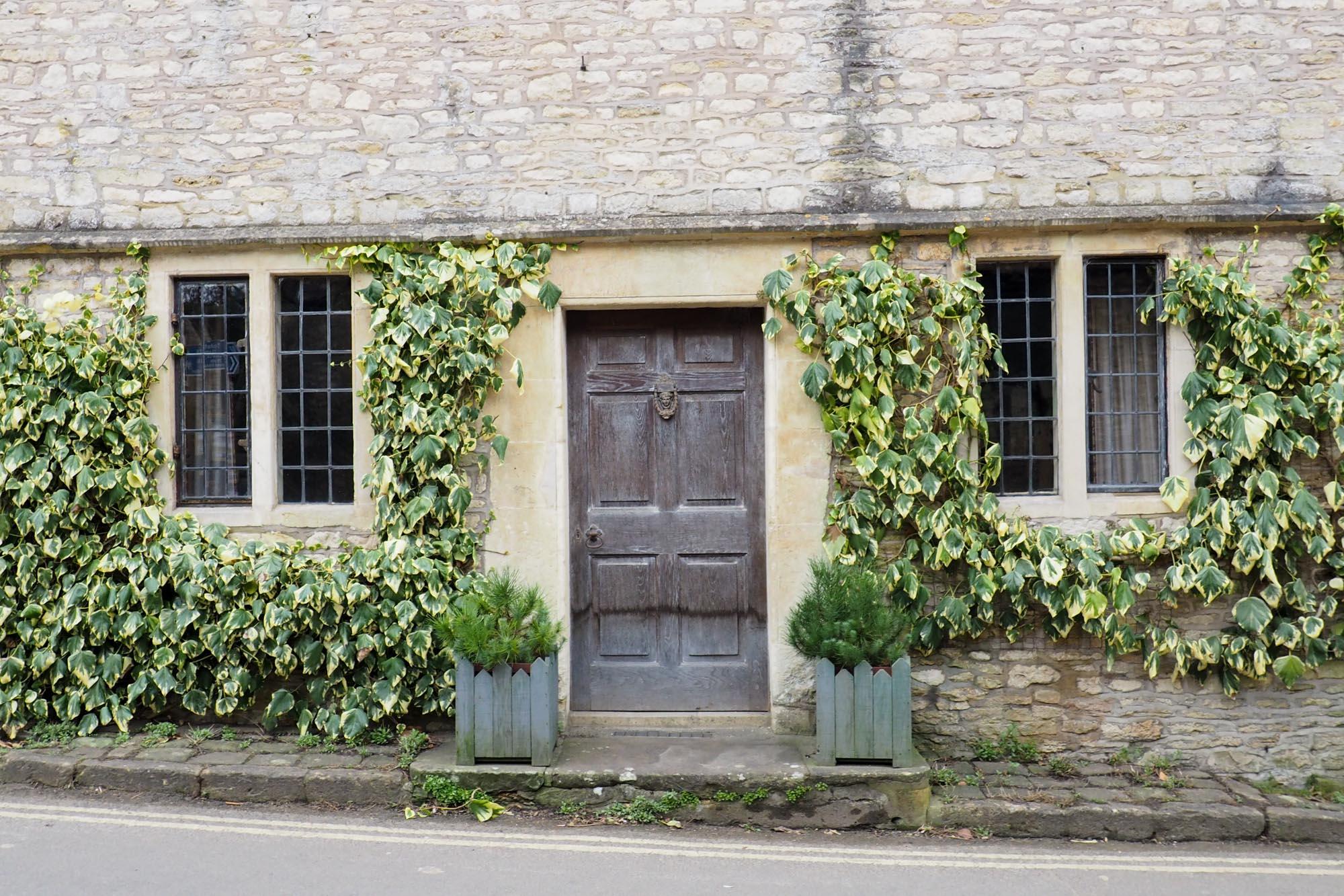 Castle Combe door