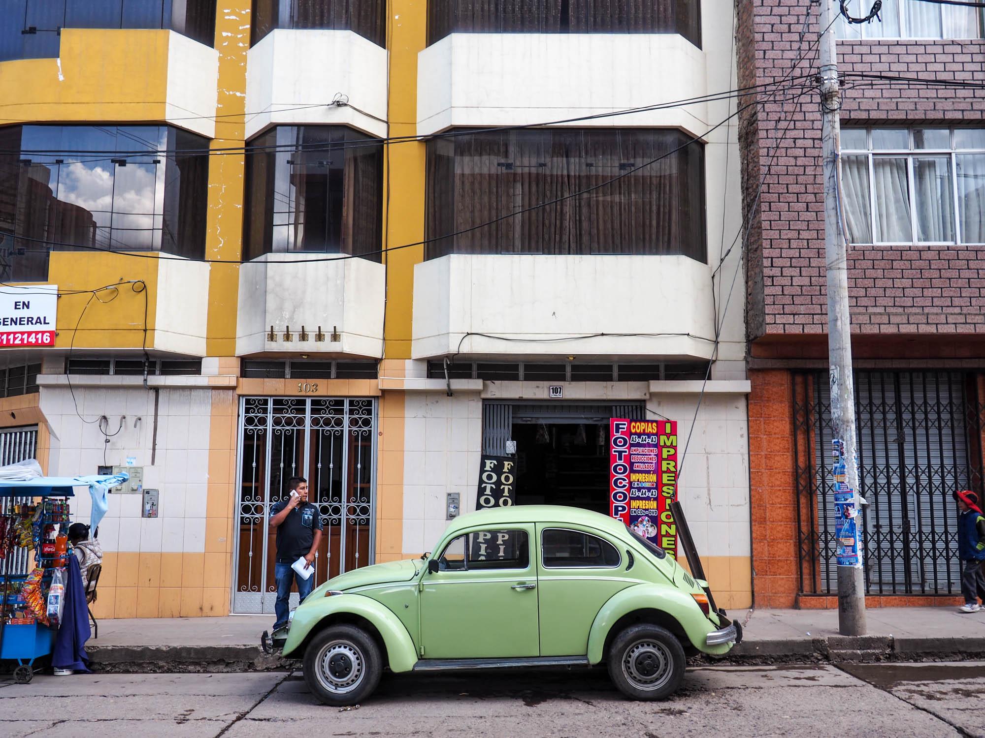 VW Beetle in Peru