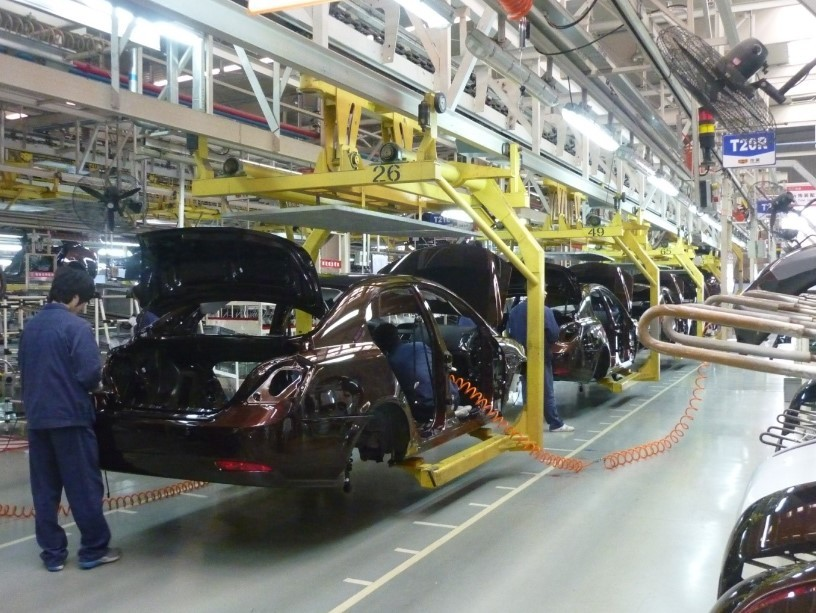 With Brexit-Imposed Shutdown, UK Car Production Falls Nearly To Half