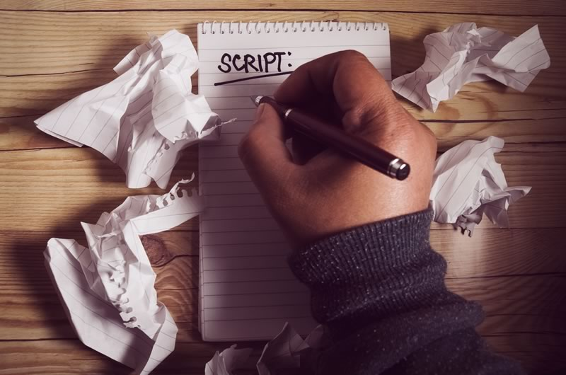 On-hold Marketing Script Writing