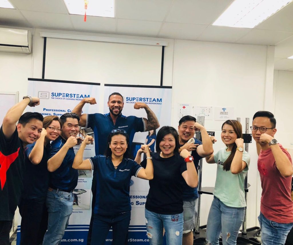Supersteam - SpaceVac Distributor Singapore