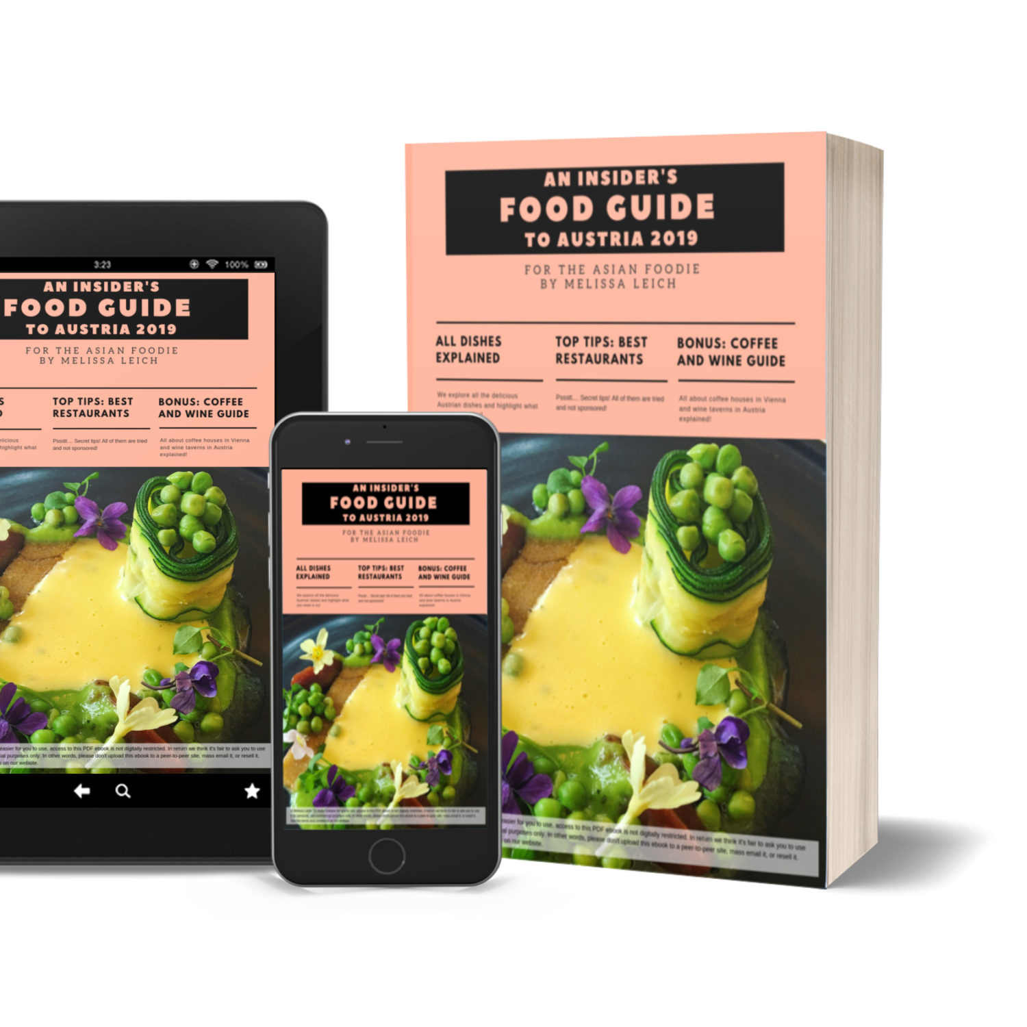 eBook: An Insider's Food Guide to Austria 2019 (for the Asian Foodie)