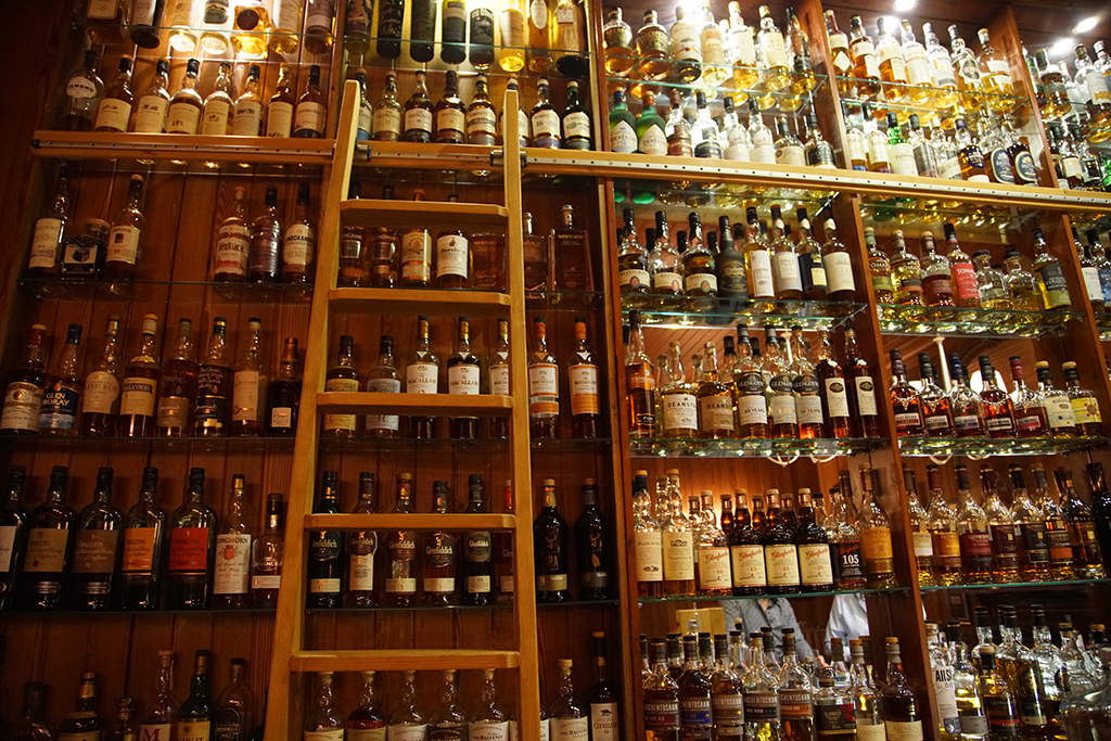 Whisky Bar, Torridon Hotel, Wester Ross, Highlands, NC500, Scotland. Scotland photos