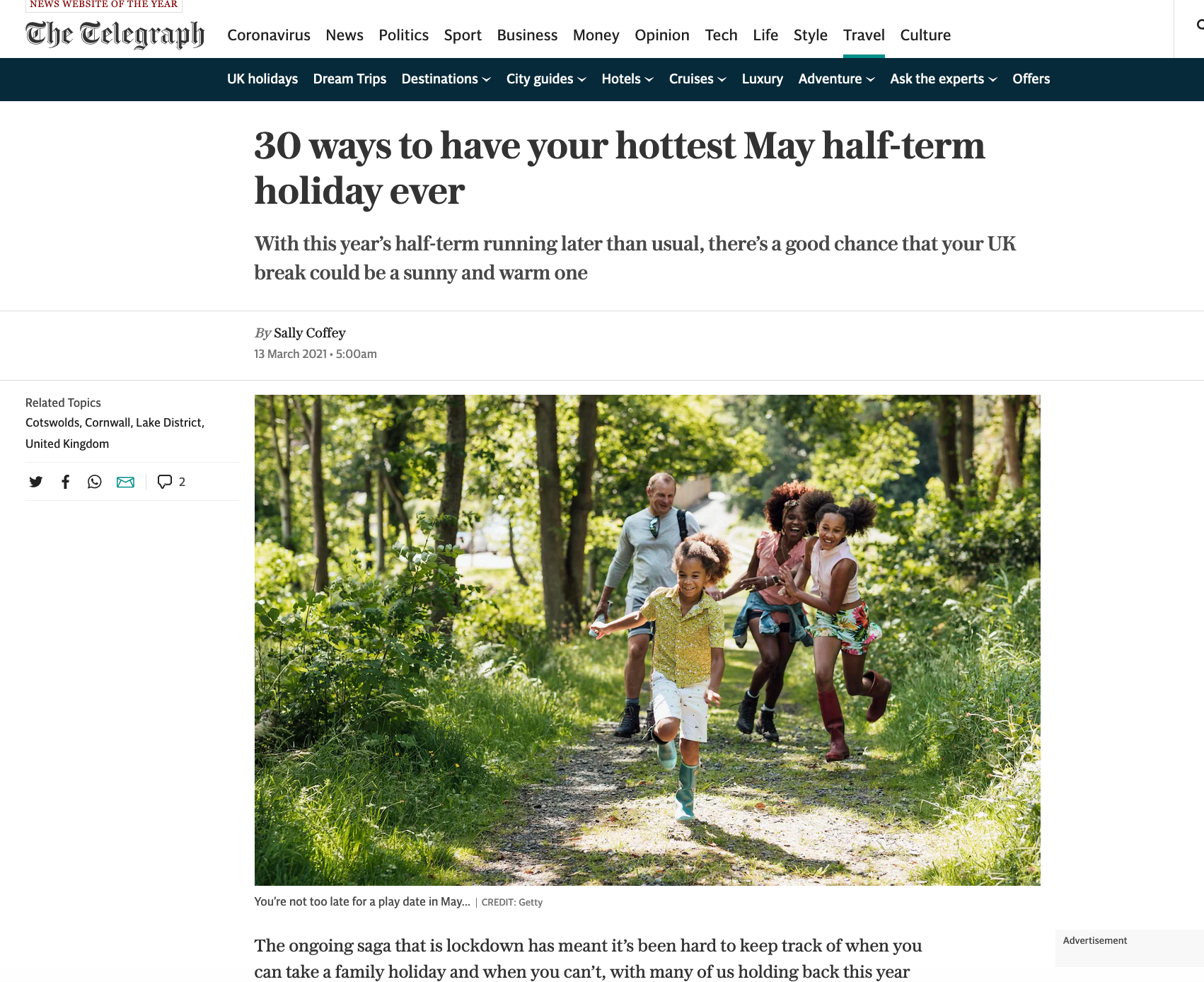 May Half Term: the best family holidays with availability