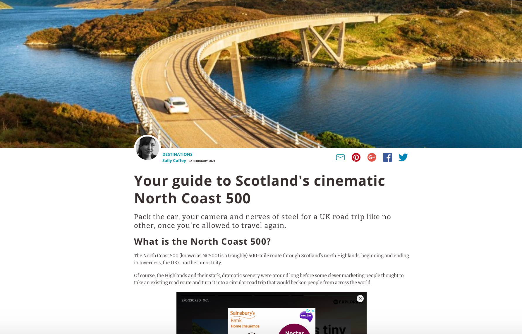 The ultimate guide to driving Scotland's North Coast 500