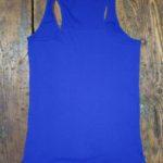 Canotta donna blu
