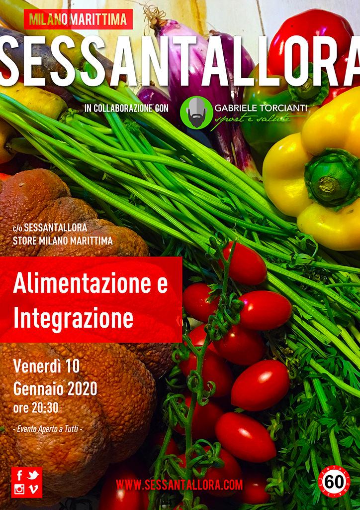 Serata a tema - Alimentazione e Integrazione