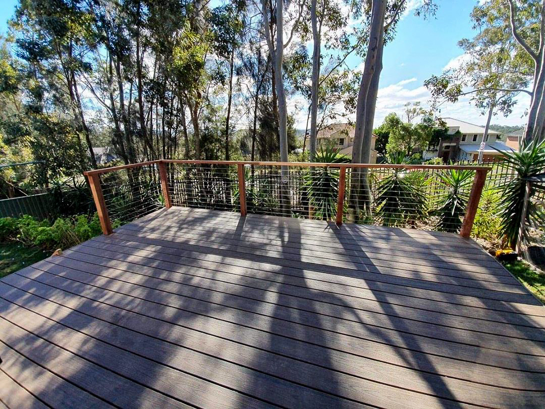 outdoor garden decking