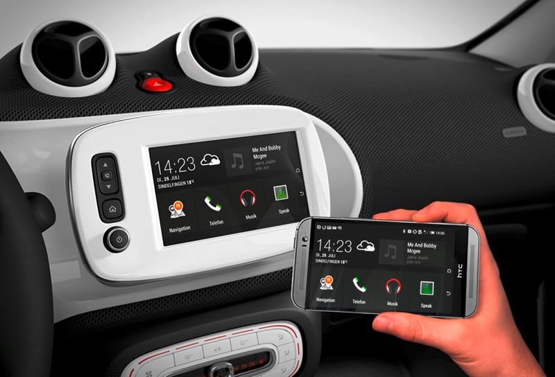 Daimler Smart Mirrorlink 2015