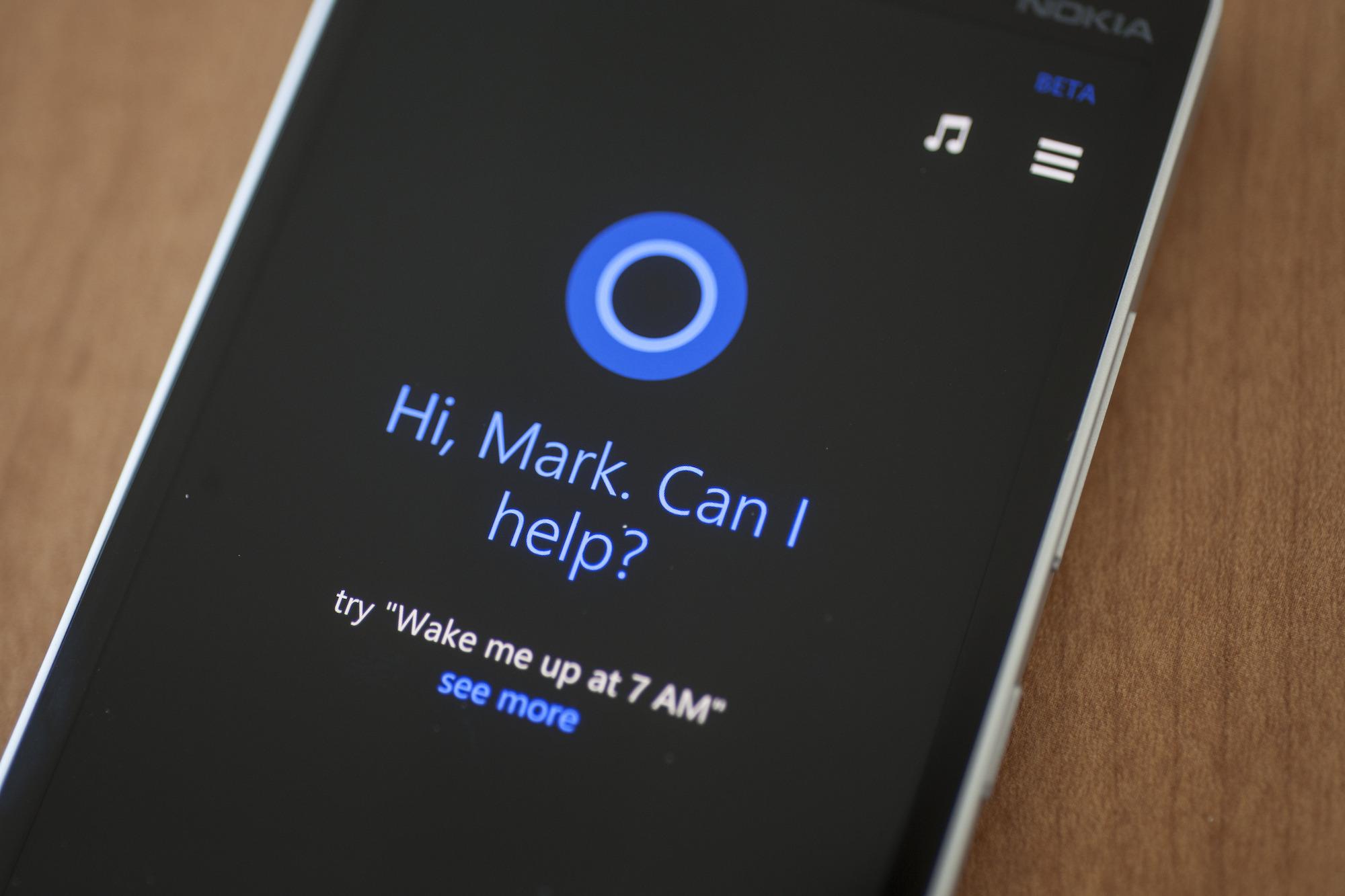 Microsoft Cortana Mirrorlink
