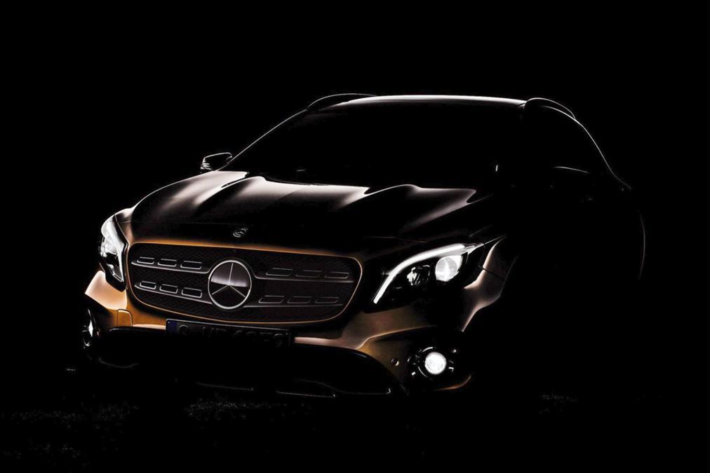 Mercedes GLA Mirrorlink 2017