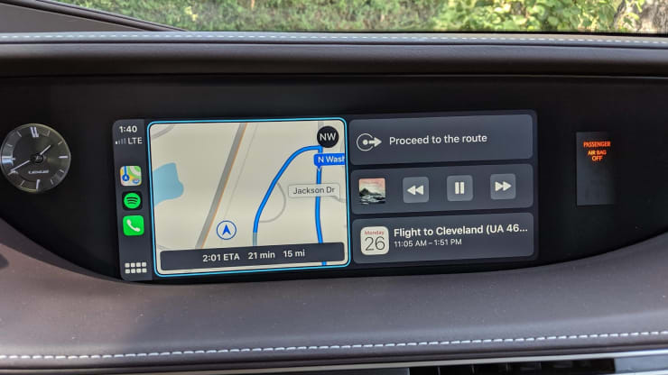 Apple CarPlay Mirrorlink Iphone IOS 13