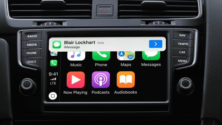 Apple Maps CarPlay Mirrorlink Iphone IOS 13