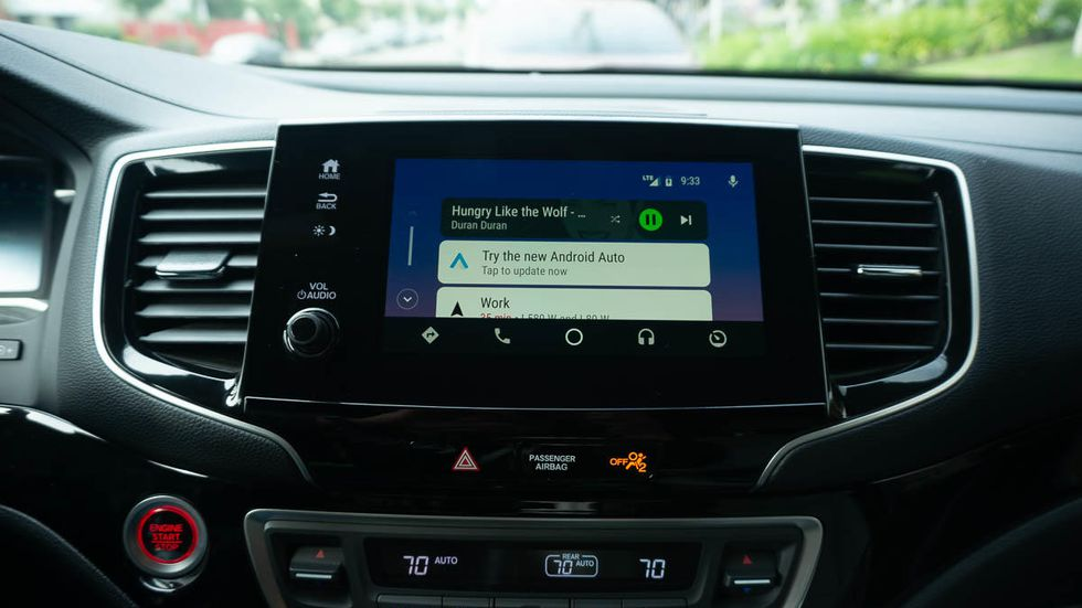 MirrorLink Android Auto