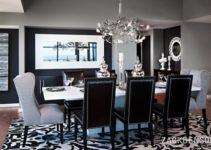 Black White Dining Room Designs