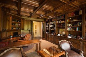 Mediterranean Home Office Designs