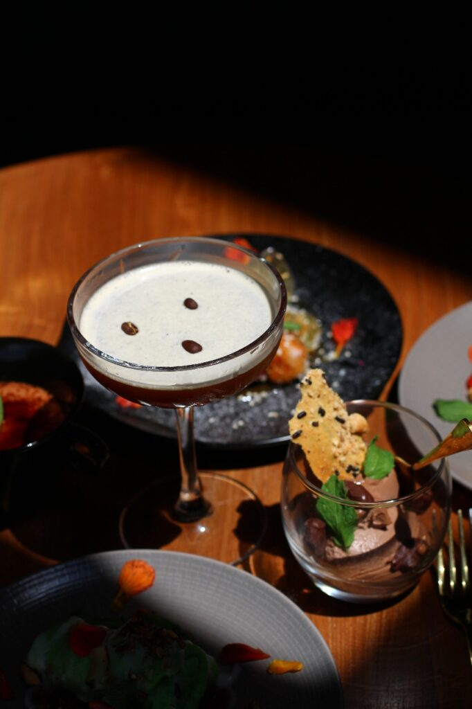 Desserts with Coffee Martini