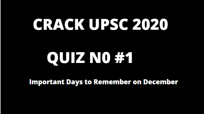 current affairs Quiz no 1