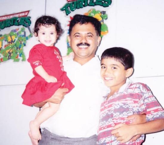 gayatri datar father