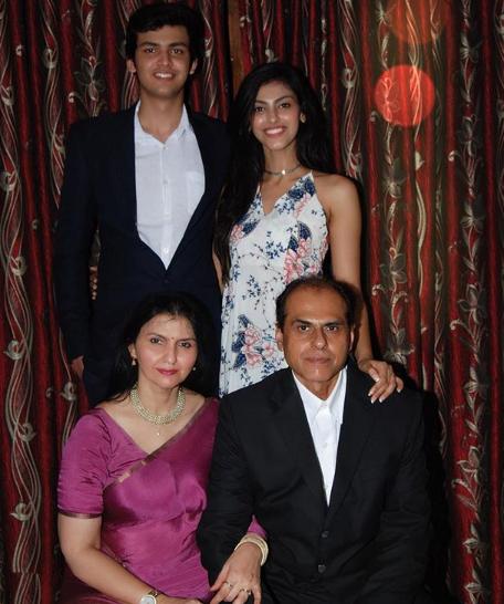 Shefali Sood Family