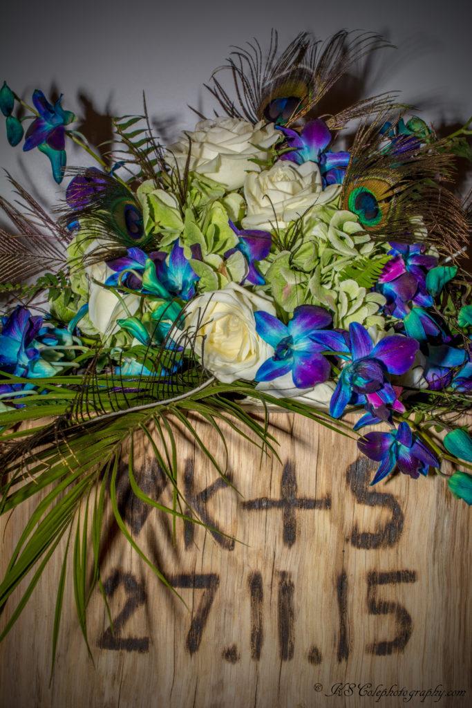 Wedding orchid bouquet Minster Lovell