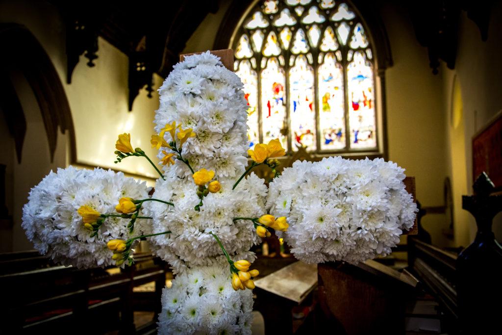 Flower cross Woodstock Oxfordshire