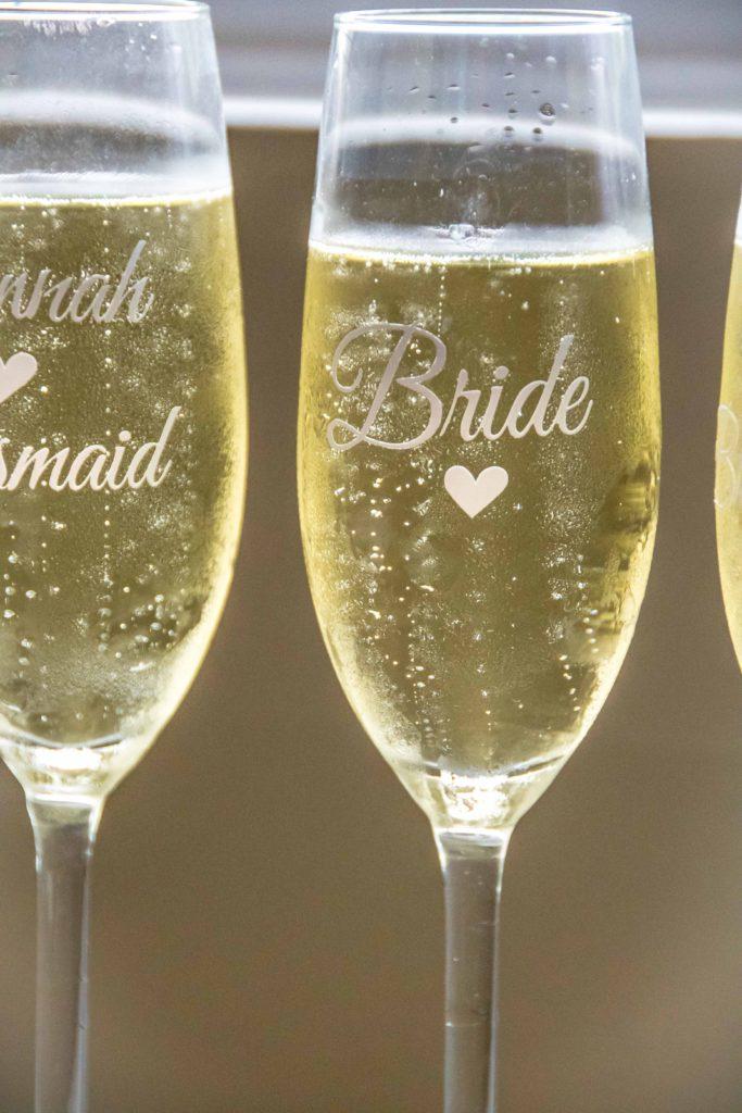 Pre-wedding Champagne