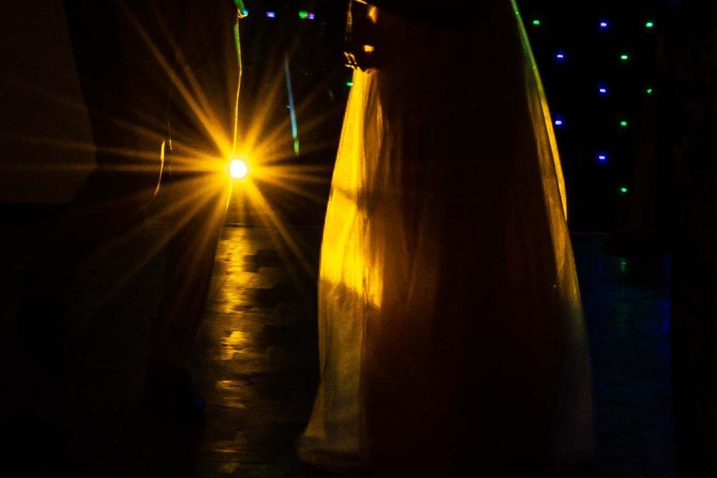 Wedding Dress Silhouette Cotswold Hotel