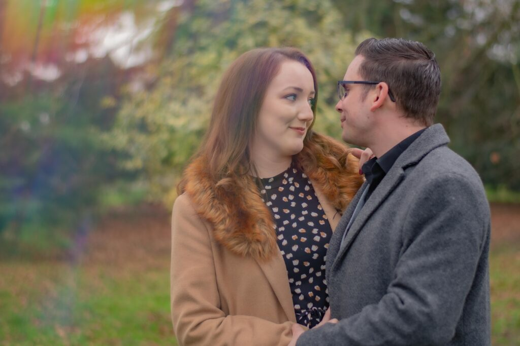 Engagement photography Florence Park Oxford