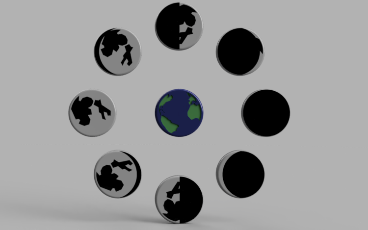 Geography | Phases of the Moon