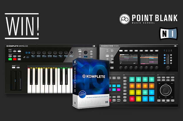 Point Blank, Maschine, Native Instruments, Giveaway, Tech, Technology, Soundspace