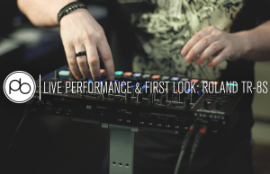 Get a First Look at the New Roland TR-8S with Saytek (Cubism, Superfreq)