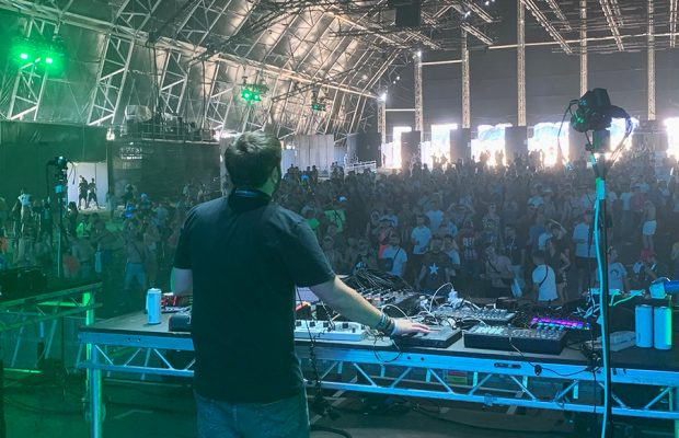 We spoke to Saytek about his live set for Carl Cox and