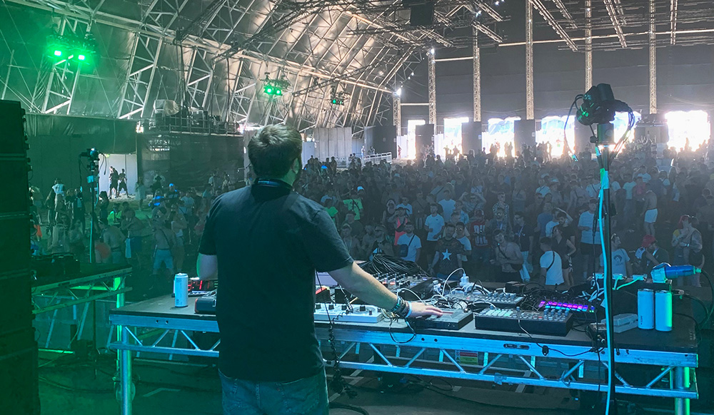 We spoke to Saytek about his live for Carl Cox and Creamfields