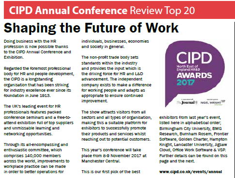 CIPD Names Top Exhibitors