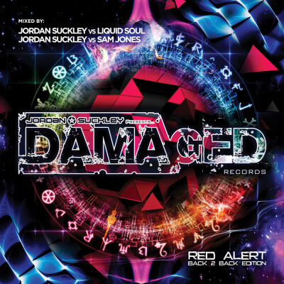Various Artists presents Damaged Red Alert Back 2 Back Edition mixed by Jordan Suckley, Liquid Soul and Sam Jones on Damaged Records